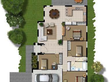 constantinescu house 2d
