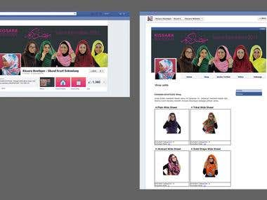 Kissara Boutique - Facebook Fanpage