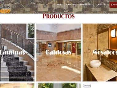 Sitio WEB (www.thedreamshouse.com.ve)