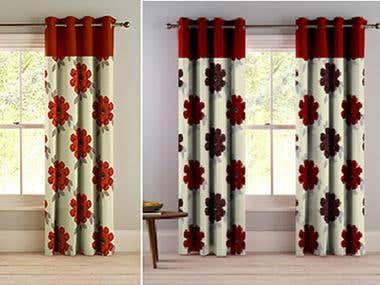 textile print pattern