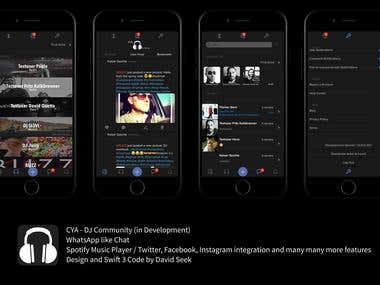 CYA - DJ Community App (in development)