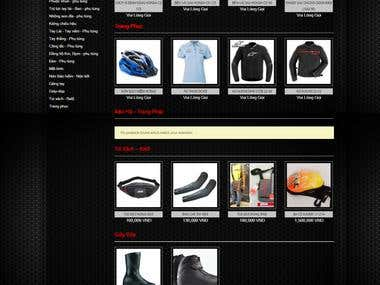 Website design and code