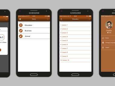 JE PARLE BASSA(E-learning app)