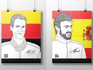 Calendar Formula 1