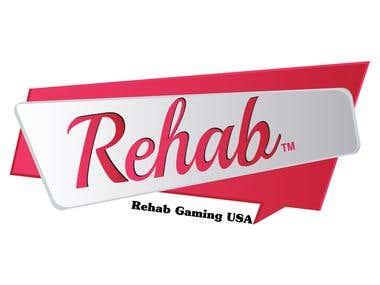 Logo for Rehab Gaming USA