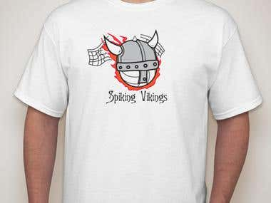 Logo / T-Shirt Design for Spiking Vikings