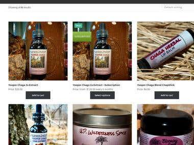 Woocommerce Shop Page / Single product page customization
