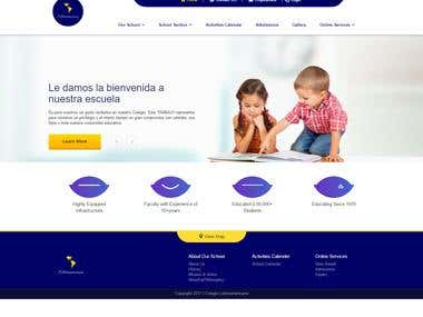 Website for School/Kindergarten