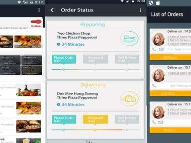 MumKitchen Food Delivery App