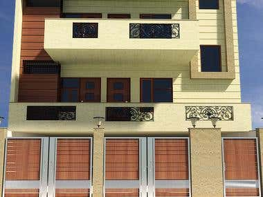 Exterior Designing And 3d Modeling