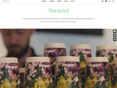 Website for consmer top agency
