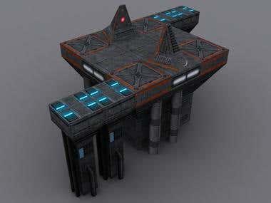 3D game assets work