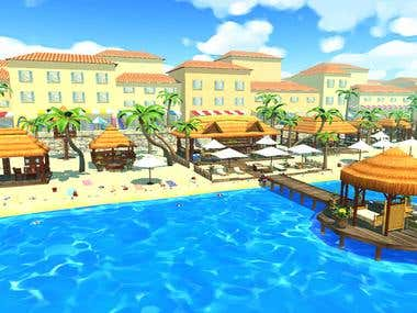 Summer Relaxation Beach VR