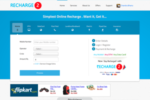Online Recharge and Bill Payment Portal