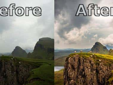 Photo Retouch and Enhancement