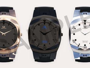 3d watch designing in 3ds max