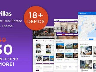Home Real Estate WordPress