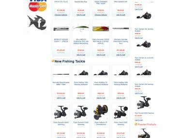Online Store Design and development