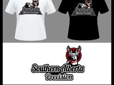 Southern Alberta Precision - Logo Design - Canada