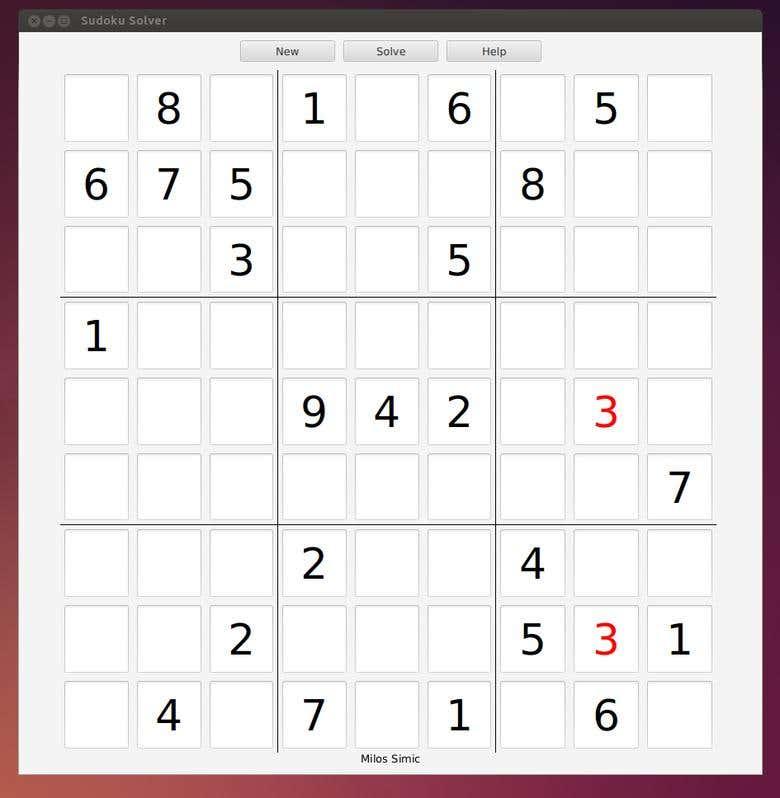 Sudoku Solver | Freelancer