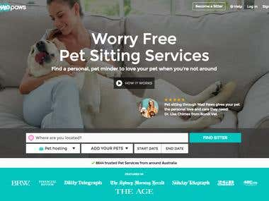 Community Website for Pet Owners