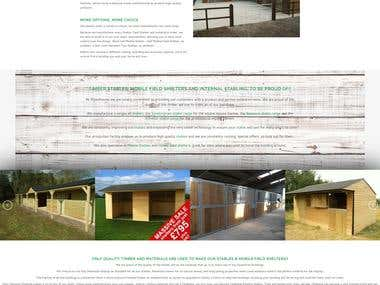 Wood House Stables- Wordpress Project