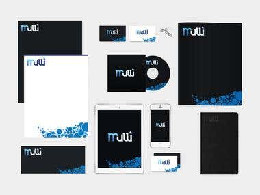 logo and full brand identity