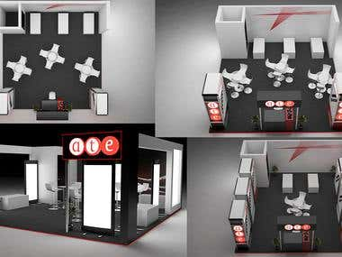 3D Stall / Exhibition Booth Design
