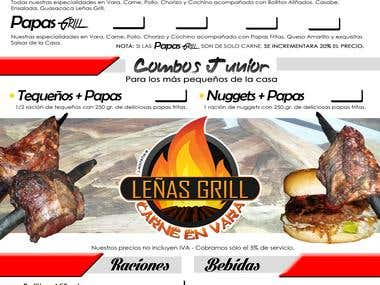 Menus de restaurants