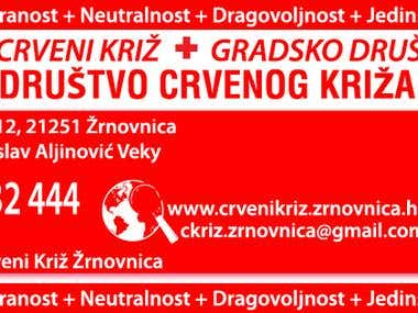 banner - Red Cross Žrnovnica