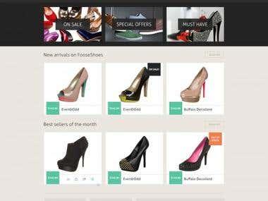 Ecommerce Shoe
