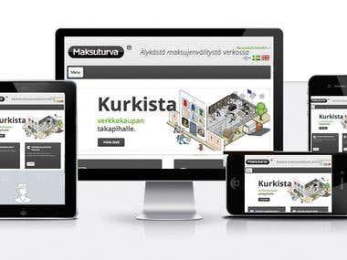 Makusuturva.fi -- Responsive Corprate Web Design