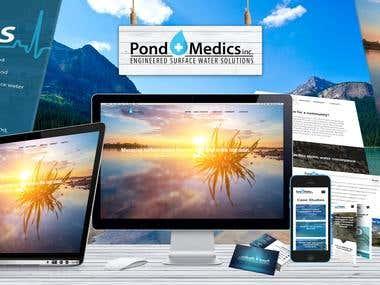Pond Medics Branding