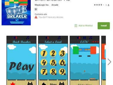 Brick Breaker Android Game