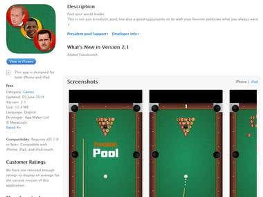 President pool Snooker iOS Game