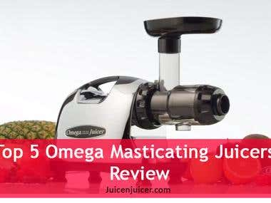 Article-Top 5 Best Omega Masticating Juicers Reviews