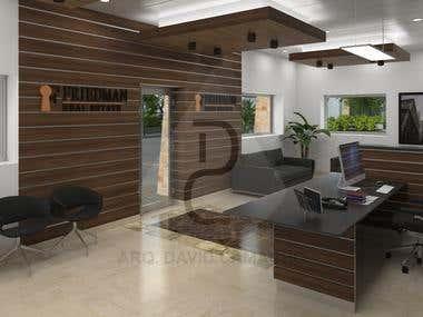 OFFICE ROOM DESIGN - 3D Modeling