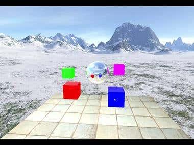 Dynamic environment cubemap
