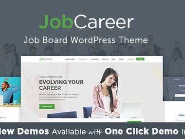 JobCareer | Job Board Responsive