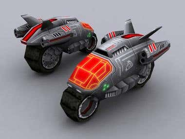 3D war bike