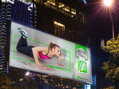 NUTRAKEY Billboard