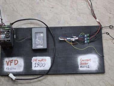 3 Phase Induction Motor Generator Set Test Bed