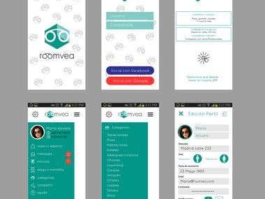Diseño de app para desarrolladores.