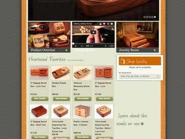 Heatwood Magento store