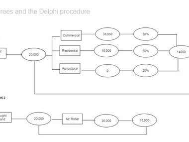 Decision Trees and the Delphi procedure