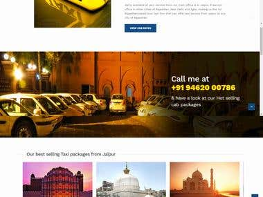Cab Auto and Taxi Maharani Cab Website