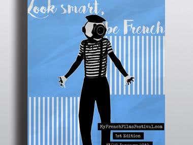 An online film festival poster