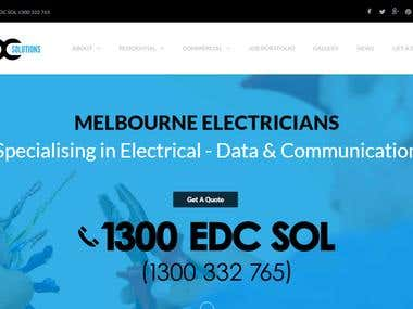 EDC Solutions Pty Ltd - Electrical Solutions Provider CMP