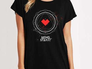 Mind Stay Art T-shirt
