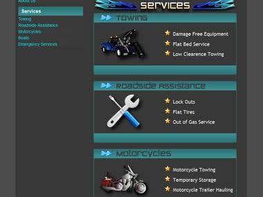Towing Website